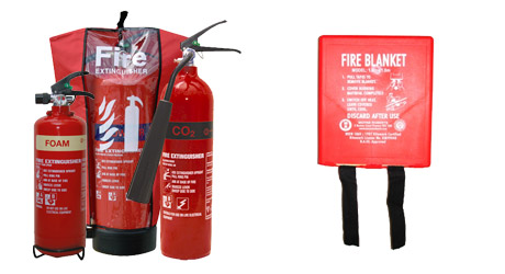 Fire Extinguishers & Blankets