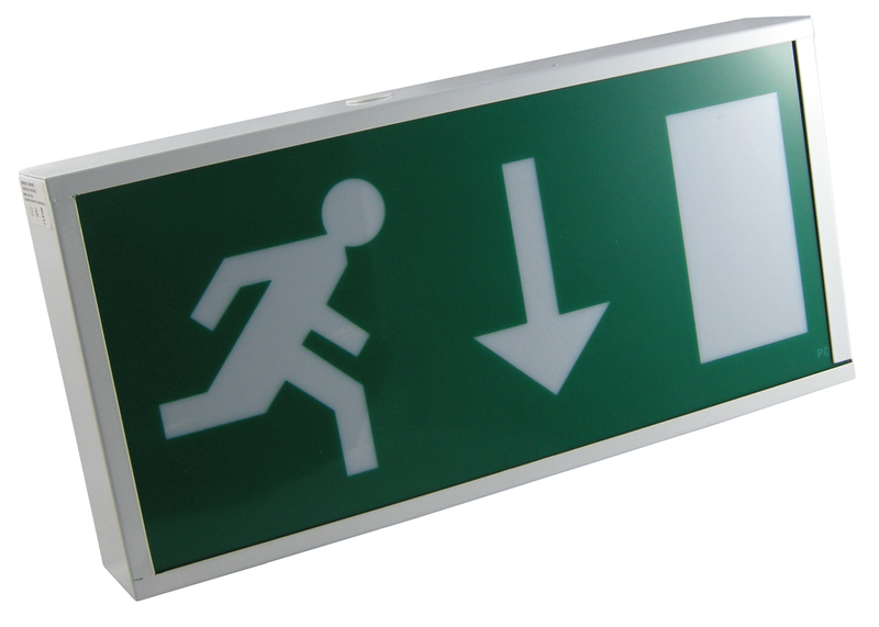 Emergency Exit Sign Format and Lighting