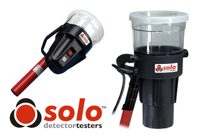 Quickly Test Fixed or ROR Heat Detectors With Solo Heat Detector Testers