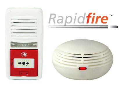 rapidfire wireless alarm system