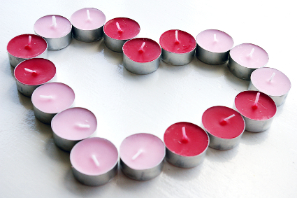 Valentines Day by Candle Light