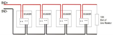 Sounder Circuit Wiring