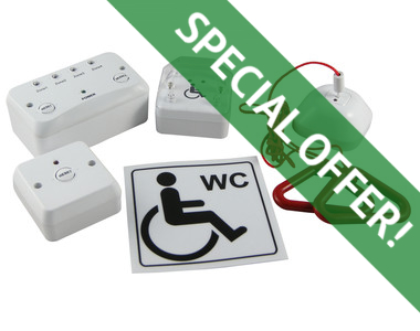 disabled toilet alarm special offer