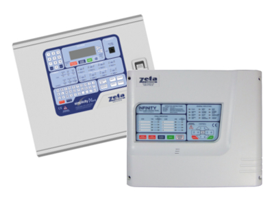 Conventional or Addressable Fire Alarm Panel