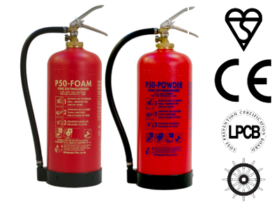 P50 Service Free Fire Extinguishers