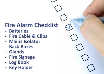 Fire Alarm Checklist