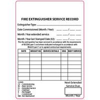 Extinguisher Labels