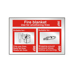 Prestige Fire Blanket Signs