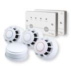 C-Tec Hush ActiV Grade C Domestic Fire Alarm System
