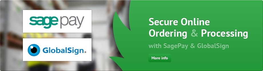 Secure Online Ordering and Processing With Sage Pay and GlobalSign