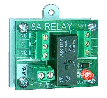 Easy Relay 12v Security Panel Relay 12v Dc Coil