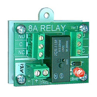 Fire Alarms, Fire Alarm Accessories, Fire Alarm Relays - Easy Relay 12V Security Panel Relay  (12V DC Coil)