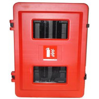 Fire Extinguishers & Blankets, Fire Extinguishers Stands & Cabinets - Double Fire Extinguisher Cabinet (Small)