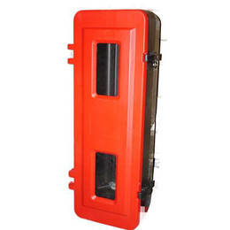 Single Fire Extinguisher Cabinet (Large) 9lt Water/Foam