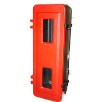 Fire Extinguishers & Blankets, Fire Extinguishers Stands & Cabinets - Single Fire Extinguisher Cabinet (Large) 9lt Water/Foam