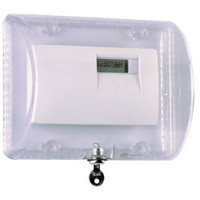 Fire Alarms, Fire Alarm Accessories, Thermostat Covers - STI 9110 - Large Thermostat Protector With Key Lock
