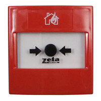 Fire Alarms, Manual Call Points, Addressable Call Points, Zeta Fyreye Addressable Manual Call Points - Zeta CP3 Addressable Manual Call Point