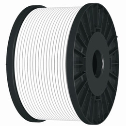 White 2 Core Standard Fire Resistant Cable (1.0mm or 1.5mm)