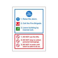 Fire Signs, Fire Action Signs - Fire Action Sign G