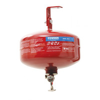 Fire Extinguishers & Blankets, Automatic Fire Extinguishers - 1-12kg Automatic Powder Fire Extinguisher With Optional Slimline Enclosure