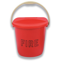 Fire Extinguishers & Blankets, Fire Buckets - Plastic Fire Bucket