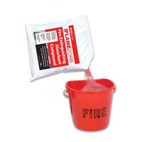 Fire Extinguishers & Blankets, Fire Buckets - Flamezorb Fire Extinguishing Absorbent Compound
