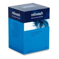 First Aid & Safety Equipment, Eye Care - Reliwash Individual Saline Eyewash Pods - 25 x 20ml