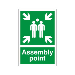 Assembly Point Sign A