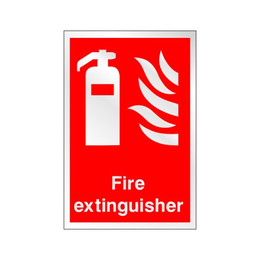 Prestige Fire Extinguisher Sign