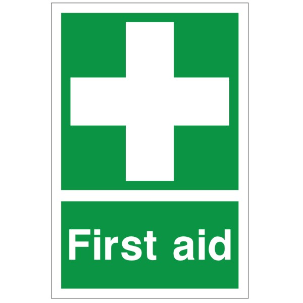 First Aid Sign - Disco...