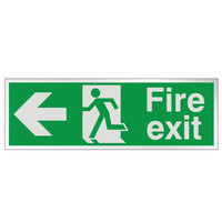 Fire Signs, Prestige Fire Signs, Prestige Fire Exit Signs - Prestige Fire Exit Sign Arrow Left