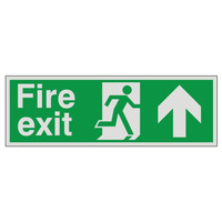 Fire Signs, Prestige Fire Signs, Prestige Fire Exit Signs - Prestige Fire Exit Sign Arrow Up