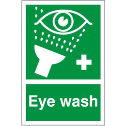 First Aid Eye Wash Sign