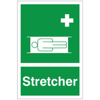 Fire Signs, First Aid Signs - First Aid Stretcher Sign