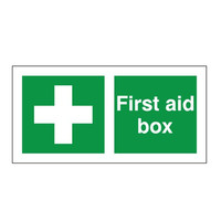 First Aid & Safety Equipment, First Aid Signs - First Aid Box Sign