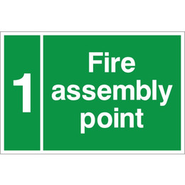 Custom Assembly Point Sign D