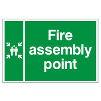 Fire Signs, Assembly Point Signs - Assembly Point Sign B