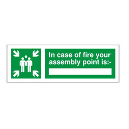 Assembly Point Sign C