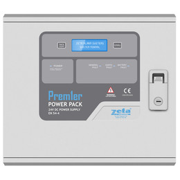 Premier Power Pack EN-54 Certified 2 or 5 Amp 24V Power Supply with LCD Screen
