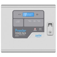 Fire Alarms, Fire Alarm Accessories, Fire Alarm Power Supplies - Premier Power Pack EN-54 Certified 2 or 5 Amp 24V Power Supply with LCD Screen