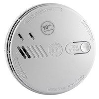Fire Alarms, Domestic Smoke, Heat & CO Alarms, Mains Powered, Interlinkable Smoke, Heat & CO Alarms, Aico Series 160 Mains Powered Alarms With 10 Year Lithium Batteries And Optional Wireless Base - Aico Mains Power Ionisation Smoke Alarm