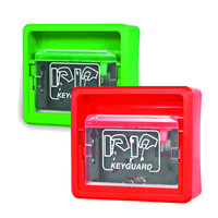 Fire Alarms, Fire Alarm Accessories, Document & Key Storage - Keyguard Emergency Key Box with Single Pole Microswitch