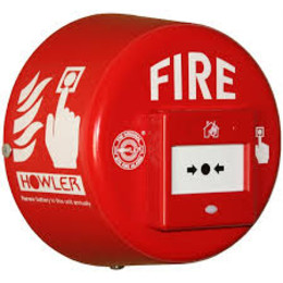 HMCP Aluminium Howler Call Point Site Alarm