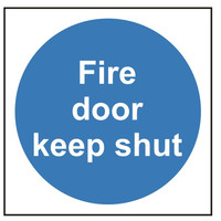 Fire Signs, Fire Door Signs - Fire Door Keep Shut Sign