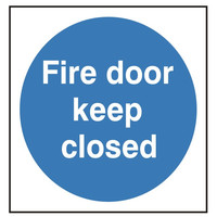 Fire Signs, Fire Door Signs - Fire Door Keep Closed Sign