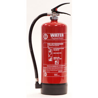 Fire Extinguishers & Blankets, Water Fire Extinguishers - Aquamax 6 Litre Water Extinguisher with Additives