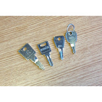 Fire Alarms, Fire Alarm Accessories, Fire Alarm Equipment Keys - Kentec Fire Alarm Panel Spare Key Set