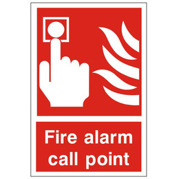 Fire Alarm Call Point Equipment Sign