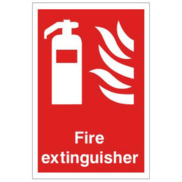 Fire Extinguisher Equipment Sign