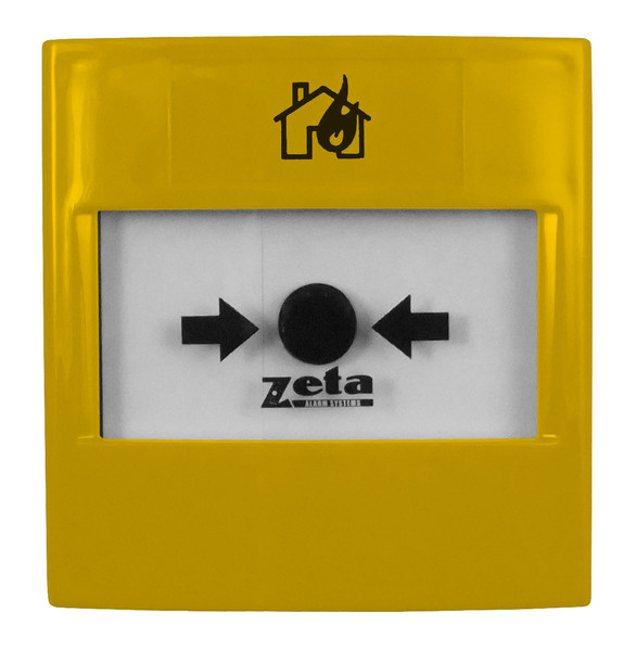 Zeta Gas Release Yellow Manual Call Point Discount Fire Supplies